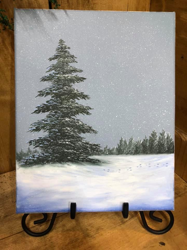 Winter Painting Class